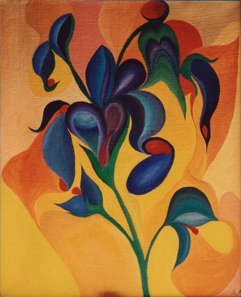 Синенький цветочек