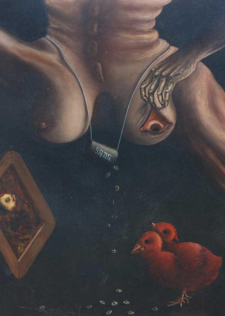 Пароксизм Орфиреуса. Декабрь 1986 г., 93х67 см,холст, масло.