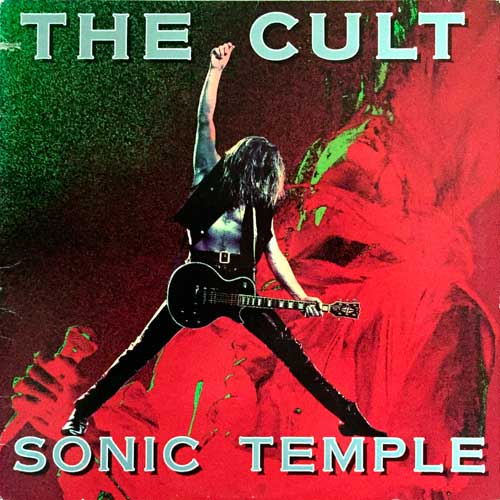 The Cult - 1989 - Sonic Temple (vinyl)